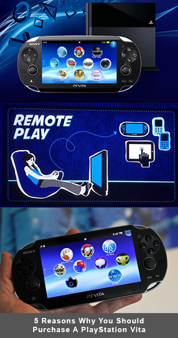 Five Reasons Why You Should Purchase A PlayStation Vita