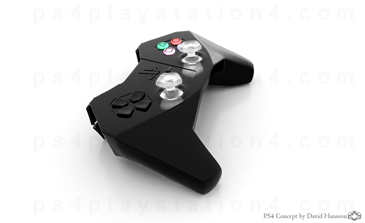 PlayStation 4 Concept Design - Controller