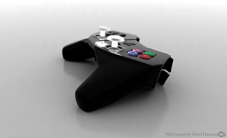 PlayStation 4 Concept Design - Night Controller