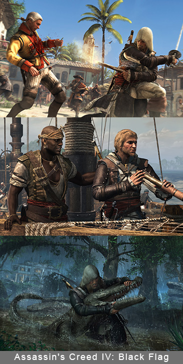 Assassin's Creed IV Hitting The PlayStation 4