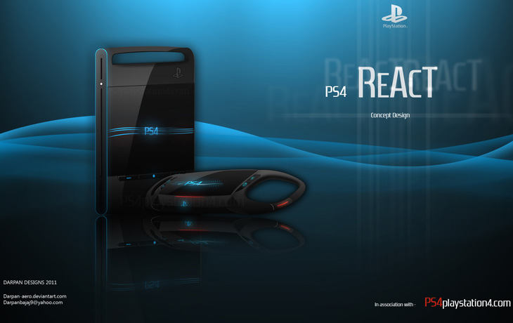 PS4 Concept Design REACT