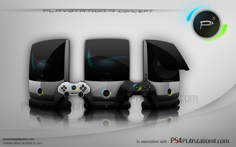 PS4 Concept Design by Darpan A