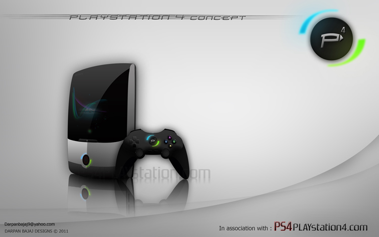 PS4 Concept Design by Darpan B