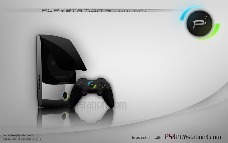 PS4 Concept Design by Darpan C