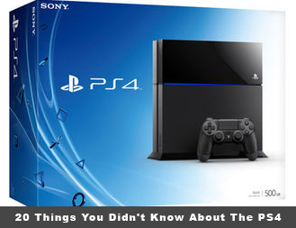 20 Things You Didn't Know About The PlayStation 4