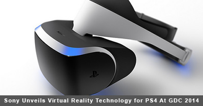 PS4 Virtual Reality Headset