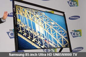 Samsung 85-inch Ultra HD UN85S9000 TV