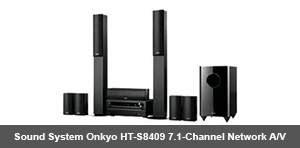 Sound System Onkyo HT-S8409 7.1-Channel Network A/V