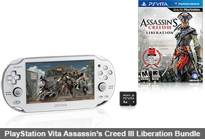 PlayStation Vita Assassin's Creed III Liberation Bundle