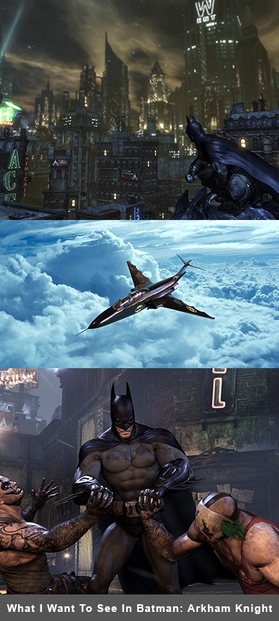 Batman: Arkham Knight Wishlist