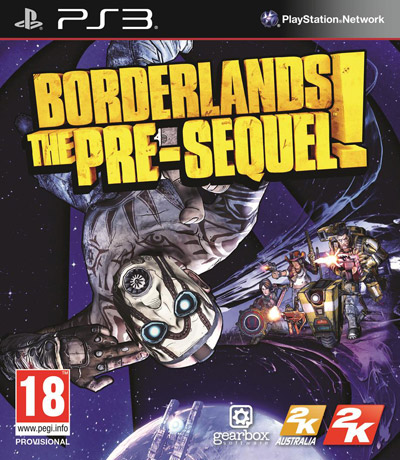 Borderlands Boxart PS4