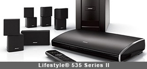 Lifestyle® 535 Series II home entertainment system by Bose