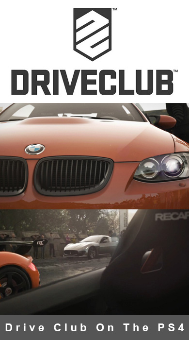 Evolution Studios Unveils Drive Club