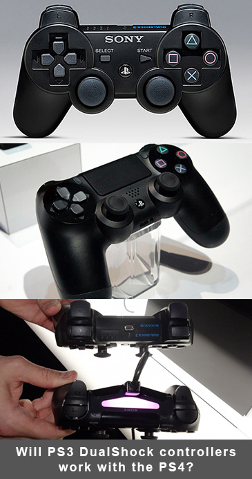 Will PlayStation 3 DualShock controllers work with the PlayStation 4?