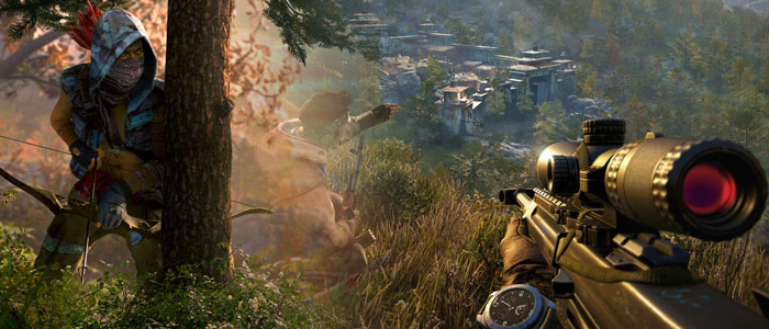 Far Cry 4 on the PS4