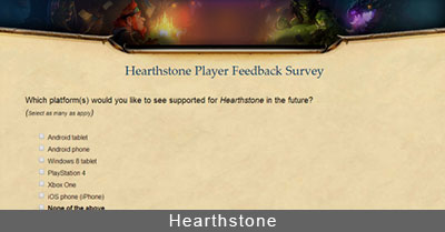 Hearthstone PS4