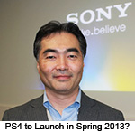 PS4 News January 18th, 2013 -- PS4 to Launch in Spring 2013?