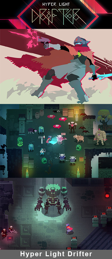 Hyper Light Drifter is Making its Way to PlayStation 4