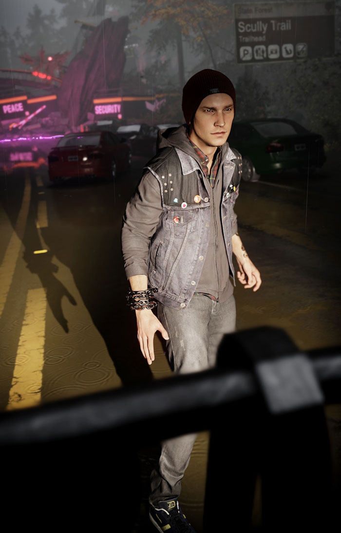 Infamous Second Son Photo Mode Shin-Ra