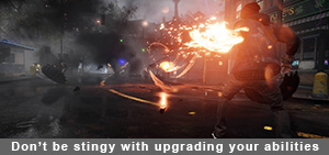 Infamous Second Son abilities