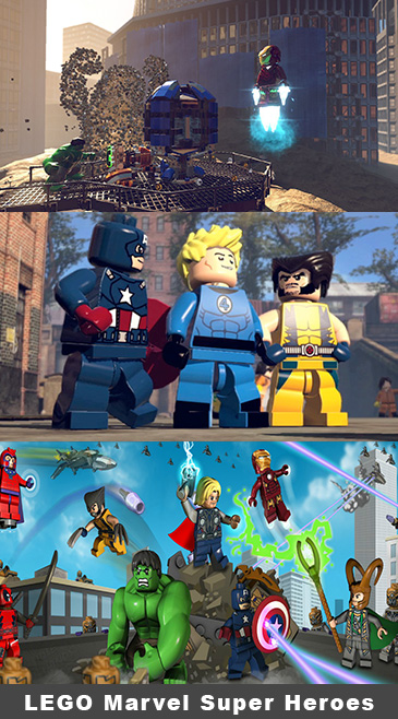 LEGO Marvel Super Heroes Brings The Avengers To The PlayStation 4