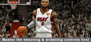 NBA 2K14 Master the Shooting and Dribbling controls