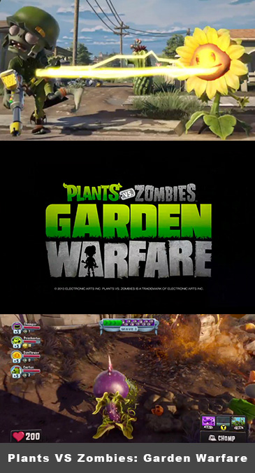 Plants VS Zombies: Garden Warfare - Like CoD?
