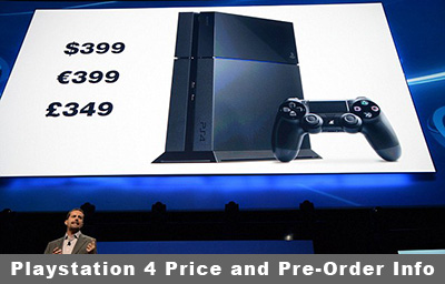 PS4 Pricing and Cost