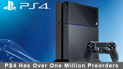PlayStation 4 Has Over One Million Preorders
