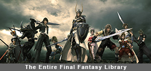 The Entire Final Fantasy Library