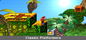 Classic Platformers Playstation