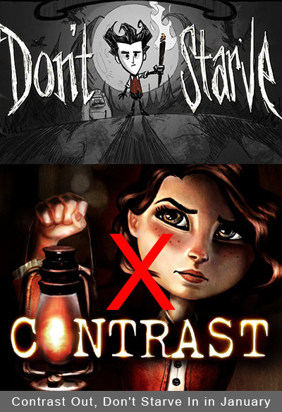PlayStation Plus Update: Contrast Out, Don't Starve In in January