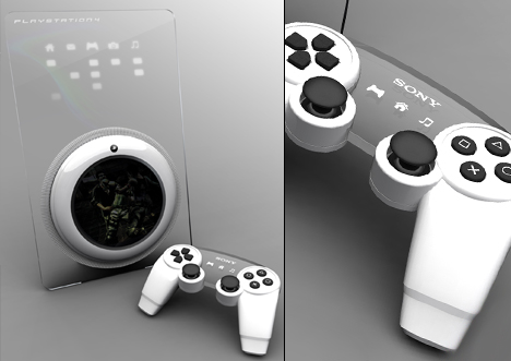 PlayStation 4 Controller and Console