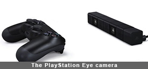 PS4 The PlayStation Eye camera
