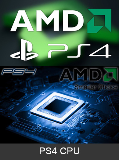 Playstation 4 Cpu Central Processing Unit