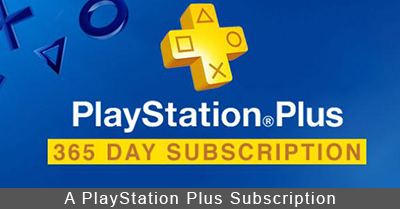 PlayStation 4 PlayStation Plus Subscription