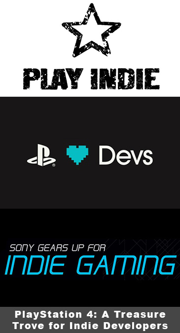 PlayStation 4's relationship with indie games