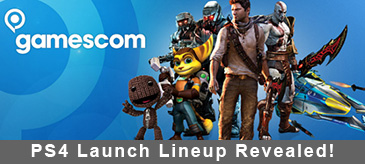 PS4 Launch Lineup Revealed!