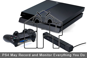 PlayStation 4 May Record and Monitor Everything You Do