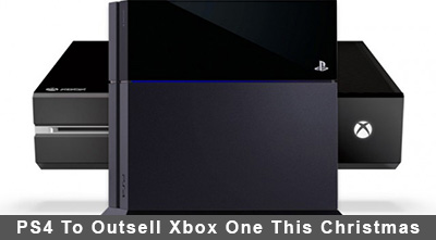 PS4 To Outsell Xbox One This Christmas