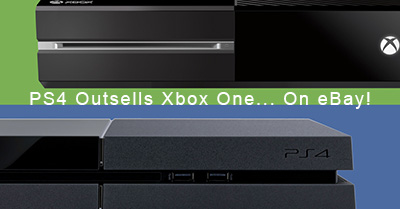 PlayStation 4 Outsells Xbox One... On eBay!