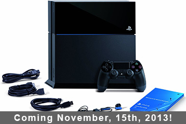 PS4 Release Date Announced!