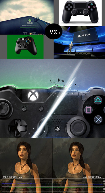 Sony PS4 VS Microsoft Xbox One