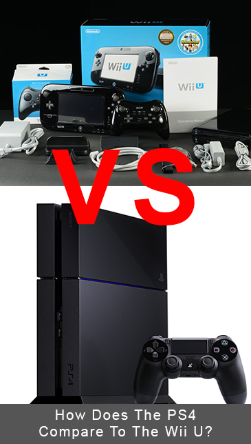 How Does The PlayStation 4 Compare To The Wii U?