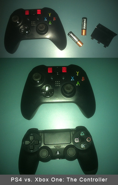 Playstation 4 vs. Xbox One The Controller