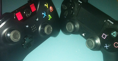 PS4 vs. Xbox One: The Controller