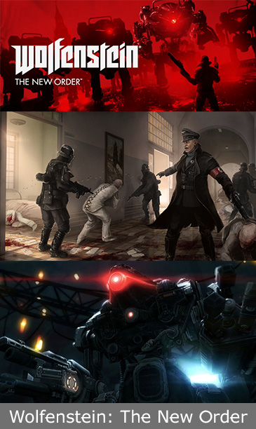 A Classic Franchise Revived On The PS4 With Wolfenstein: The New Order
