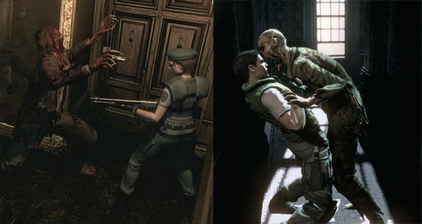 Resident Evil Remastered on the PS4