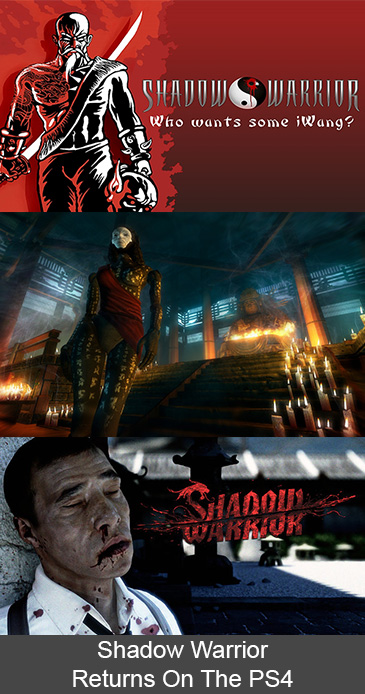 Shadow Warrior Returns On The PlayStation 4