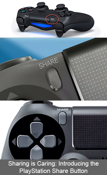 Sharing is Caring: Introducing the PlayStation Share Button